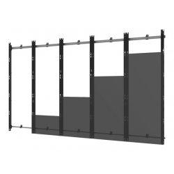 Peerless-AV DS-LED27BDL-5X5 - Suporte - para parede de vídeo 5x5 - alumínio - preto e prata - montável em parede