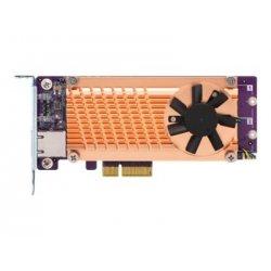 QNAP QM2-2P10G1TA - Controlador de memória - M.2 - PCIe baixo perfil - PCIe 2.0 x4 - para QNAP TDS-16489U R2, TS-1232, 253, 453