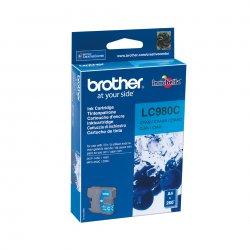 Brother LC980C - Azul cyan - original - tinteiro - para Brother DCP-145, 163, 167, 193, 195, 197, 365, 373, 375, 377, MFC-250,