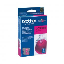 Brother LC980M - Magenta - original - tinteiro - para Brother DCP-145, 163, 167, 193, 195, 197, 365, 373, 375, 377, MFC-250, 25