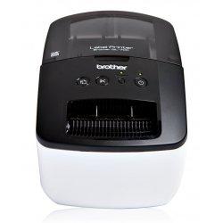 Brother QL-700 - Impressora de etiquetas - papel térmico - Rolo (6,2 cm) - 300 x 600 ppp - até 150 mm/ s - USB