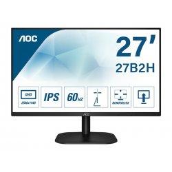 """AOC 27B2H/EU - Monitor LED - 27"""" - 1920 x 1080 Full HD (1080p) @ 75 Hz - IPS - 250 cd/m² - 1000:1 - 4 ms - HDMI, VGA - preto"""