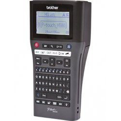 Brother P-Touch PT-H500 - Etiquetadora - monocromático - tranferência térmica - Rolo (2,4 cm) - 180 dpi - até 30 mm/ s - USB -
