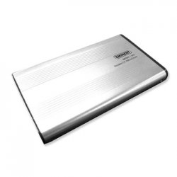 "Caixa externa USB 2.0 para discos SATA de 2,5"""