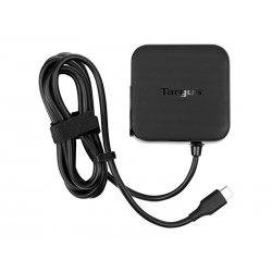 Targus Universal - Adaptador de alimentação - 45 Watt - 3 A (USB-C) - preto