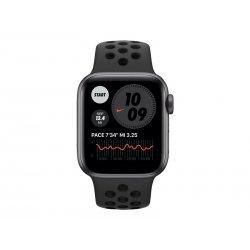 Apple Watch Nike SE (GPS) - 40 mm - alumínio cinzento espaço - relógio inteligente Com fita de desporto Nike - fluoroelastómero