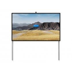 "Steelcase Roam Collection - Suporte - para quadro interactivo - branco ártico, cinzento Microsoft - tamanho de tela: 85"" - mont"