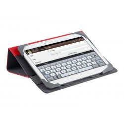 "Targus Fit-N-Grip Universal - Capa flip cover para tablet - poliuretano, silicone - vermelho - 9"" - 10"""