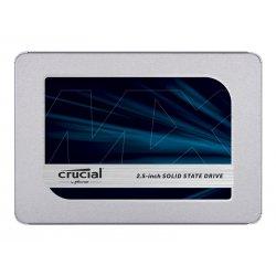 """Crucial MX500 - Unidade de estado sólido - encriptado - 250 GB - interna - 2.5"""" - SATA 6Gb/s - 256-bits AES - TCG Opal Encrypti"""