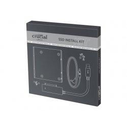 "Crucial SSD Install Kit - Adaptador do compartimento de armazenamento - 3,5"" a 2,5"""