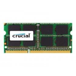 Crucial - DDR3 - módulo - 8 GB - SO DIMM 204-pinos - 1600 MHz / PC3-12800 - CL11 - 1.35 / 1.5 V - unbuffered - sem ECC - para A