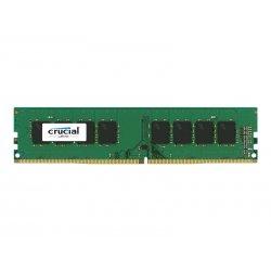 Crucial - DDR4 - módulo - 4 GB - DIMM 288-pin - 2400 MHz / PC4-19200 - CL17 - 1.2 V - unbuffered - sem ECC