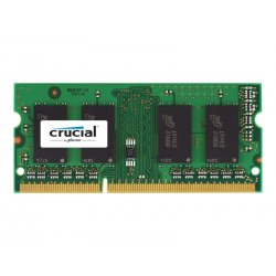 Crucial - DDR3L - módulo - 8 GB - SO DIMM 204-pinos - 1600 MHz / PC3-12800 - CL11 - 1.35 V - unbuffered - sem ECC