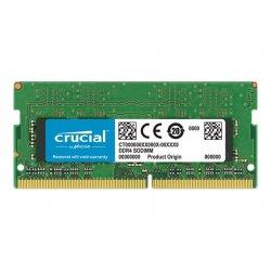 Crucial - DDR4 - módulo - 4 GB - SO DIMM 260-pinos - 2400 MHz / PC4-19200 - CL17 - 1.2 V - unbuffered - sem ECC
