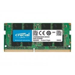 Crucial - DDR4 - módulo - 8 GB - SO DIMM 260-pinos - 2400 MHz / PC4-19200 - CL17 - 1.2 V - unbuffered - sem ECC