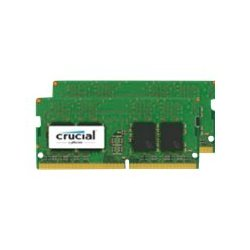 Crucial - DDR4 - kit - 8 GB: 2 x 4 GB - SO DIMM 260-pinos - 2400 MHz / PC4-19200 - CL17 - 1.2 V - unbuffered - sem ECC