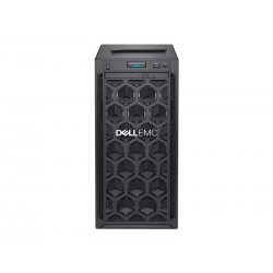Dell EMC PowerEdge T140 - Servidor - MT - 1 via - 1 x Xeon E-2224 / 3.4 GHz - RAM 8 GB - HDD 1 TB - Gravador DVD - G200eR2 - Gi