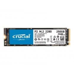 Crucial P2 - Unidade de estado sólido - 250 GB - interna - M.2 2280 - PCI Express 3.0 x4 (NVMe) -