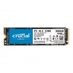 Crucial P2 - Unidade de estado sólido - 500 GB - interna - M.2 2280 - PCI Express 3.0 x4 (NVMe) -