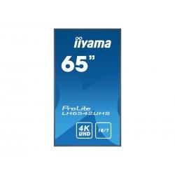 """iiyama ProLite LH6542UHS-B1 - 65"""" Classe Diagonal (64.5"""" visível) - 42 Series ecrã LCD com luz de fundo LED - sinalização digit"""