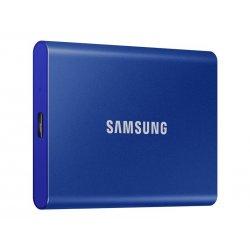Samsung T7 MU-PC500H - Unidade de estado sólido - encriptado - 500 GB - externa (portátil) - USB 3.2 Gen 2 (USB C conector) - 2