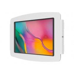 Compulocks Space - Suporte - para tablet - bloqueável - alumínio - branco - interface de montagem: 100 x 100 mm - montável em p