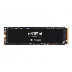 Crucial P5 - Unidade de estado sólido - encriptado - 250 GB - interna - M.2 2280 - PCI Express 3.0 (NVMe) - 256-bits AES