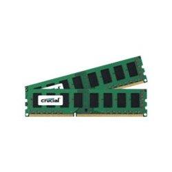 Crucial - DDR3L - kit - 4 GB: 2 x 2 GB - DIMM 240 pinos - 1600 MHz / PC3-12800 - CL11 - 1.35 V - unbuffered - sem ECC
