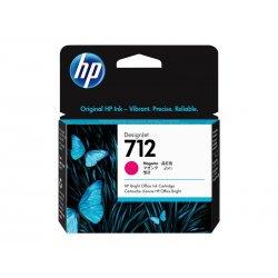 HP 712 - 29 ml - magenta - original - DesignJet - tinteiro - para DesignJet Studio, T210, T230, T250, T630, T650