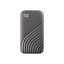 WD My Passport SSD WDBAGF5000AGY - Unidade de estado sólido - encriptado - 500 GB - externa (portátil) - USB 3.2 Gen 2 (USB C c