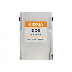 """KIOXIA CD6-R Series KCD61LUL960G - Unidade de estado sólido - 960 GB - interna - 2.5"""" - PCI Express 4.0 (NVMe)"""