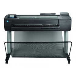 "HP DesignJet T730 - 36"" impressora de grande formato - a cores - jacto de tinta - Rolo (91,4 cm x 45,7 m) - 2400 x 1200 ppp - a"