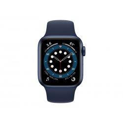 Apple Watch - 40 mm - alumínio azul - relógio inteligente Com banda de desporto - fluoroelastómero - azul marinho profundo - ta