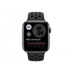 Apple Watch Nike SE (GPS) - 44 mm - alumínio cinzento espaço - relógio inteligente Com fita de desporto Nike - fluoroelastómero