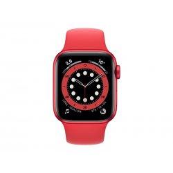 Apple Watch Series 6 (GPS) - (PRODUCT) RED - 40 mm - alumínio vermelho - relógio inteligente Com banda de desporto - fluoroelas