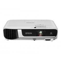 Epson EB-W51 - 3 projetores LCD - portátil - 4000 lumens (branco) - 4000 lumens (cor) - WXGA (1280 x 800) - 16:10 - 720p