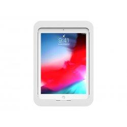 Compulocks iPad 10.2 Lock and Security Case Bundle With Combinaton Lock - Tampa posterior para tablet - alumínio - branco - 10.