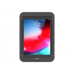 Compulocks iPad 10.2 Lock and Security Case Bundle With Combinaton Lock - Tampa posterior para tablet - alumínio - preto - 10.2