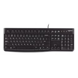 Logitech K120 - Teclado - USB - layout do Reino Unido