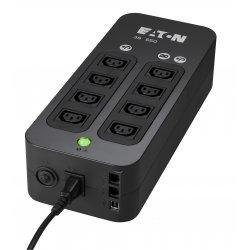 Eaton 3S - UPS - AC 161-284 V - 330 Watt - 550 VA - USB - conectores de saída: 6 - preto