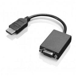 Lenovo - Adaptador de vídeo - HDMI / VGA - HDMI (M) para HD-15 (VGA) (F) - 20 cm - para IdeaPad 330S-14, 330S-15, L340-15, L340