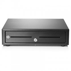 HP Standard Duty Cash Drawer - Caixa registradora eletrónica - preto - para ElitePOS G1 Retail System, Engage One, RP3 Retail S
