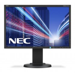 "NEC MultiSync E223W - Monitor LED - 22"" - 1680 x 1050 HD 720p - TN - 250 cd/m² - 1000:1 - 5 ms - DVI-D, VGA, DisplayPort - pret"