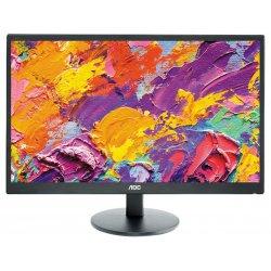 """AOC E2470SWDA - Monitor LED - 23.6"""" (23.6"""" visível) - 1920 x 1080 Full HD (1080p) - 250 cd/m² - 1000:1 - 5 ms - DVI-D, VGA - al"""