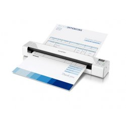 Brother DSmobile 820W - Scanner para folhas de papel - 215.9 x 812.8 mm - 600 ppp x 600 ppp - USB 2.0, Wi-Fi(n)