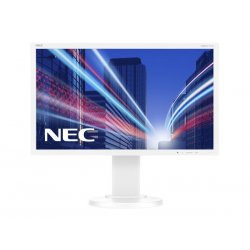 "NEC MultiSync E224Wi - Monitor LED - 22"" (21.5"" visível) - 1920 x 1080 Full HD (1080p) - IPS - 250 cd/m² - 1000:1 - 6 ms - DVI-"