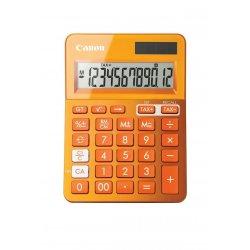 Canon LS-123K - Calculadora de secretária - 12 dígitos - Painel solar, bateria - laranja metálico