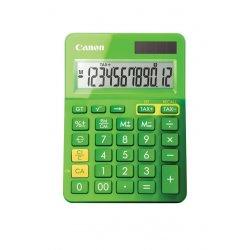 Canon LS-123K - Calculadora de secretária - 12 dígitos - Painel solar, bateria - verde metálico