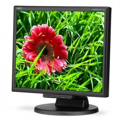 "NEC MultiSync E171M - Monitor LED - 17"" (17"" visível) - 1280 x 1024 - 250 cd/m² - 1000:1 - 5 ms - DVI-D, VGA - altifalantes - p"