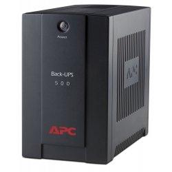APC Back-UPS 500CI - UPS - AC 230 V - 300 Watt - 500 VA - conectores de saída: 3 - preto